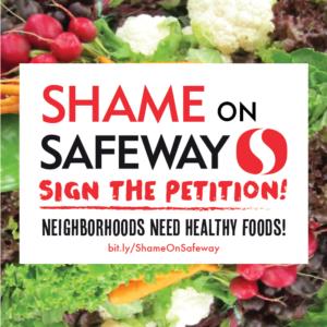 Shame on Safeway