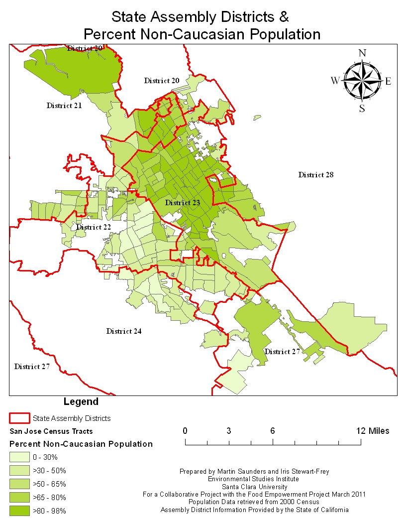 Reports Food Availability in Santa Clara County and Focus Groups in